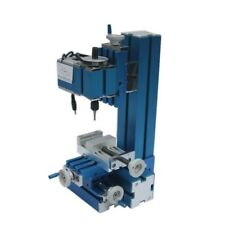 Mini Milling Machine DIY Woodworking Soft metal processing tool for Hobby