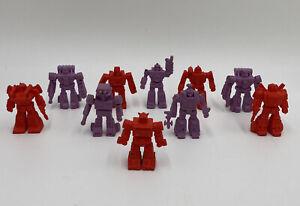 1986 VTG Transformers G1 Decoy Lot Of 10 Mixmaster Autobots Decepticons RARE