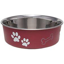 New listing Loving Pets Bella Bowl Dog Bowl, Medium, Merlot