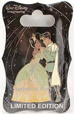 NEW Walt Disney Imagineering WDI D23 Princess Tiana & Naveen Dancing Pin LE 250