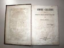 De Nardi #AMORI CELEBRI DEI POETI DEGLI ARTISTI..# 1872
