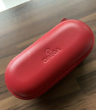 OMEGA Watch Travel Case Red (with foam inserts) unused