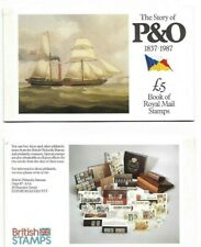 Great Britain 5 pound Story of P&O booklet