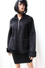 TROJANI ♛ Gr S ♛ WINTERJACKE Damen Jacke mit FELL Futter schwarz ❤️2375i