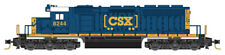 Micro-Trains Mtl Z-Scale Emd Sd40-2 Locomotive Csx Transportation (Boxcar) #8244