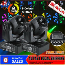 2Pcs RGBW 30W LED Spot Moving Head Light For DJ Bar Club Party Stage Show MX-512