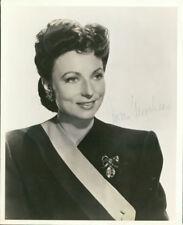 Agnes Moorhead (Vintage) signed photo COA