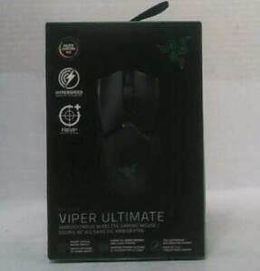 NEW OPEN BOX Razer RZ01-03050200-R3U1 Viper Ultimate Wireless Gaming Mouse $175
