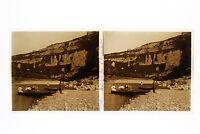Gorges Da L Ardeche Francia Foto n46L7-20 Placca Lente Stereo Vintage