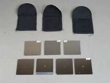 LOT of 7 ND Filters 2x2 Inch Chipped Broken