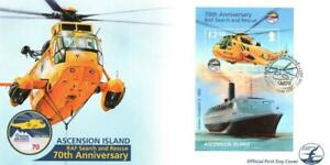 ASCENSION 2011 19TH MAY 70TH ANNIV OF RAF SEARCH & RESCUE M/S  FDC