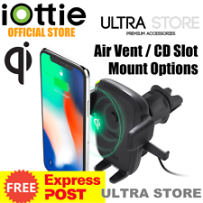 iOttie Easy One Touch 4 Wireless Qi Charging Air Vent / CD Slot Car Mount Holder