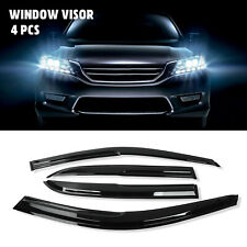 Window Visor Shade Sun Guard Gear For 2003-2007 Honda Accord 4Dr 2004 2005 2006 (Fits: Honda)