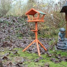 Vogelhaus mit Ständer aus Holz Vogelfutterhaus Vogelhäuschen Futterhaus Vögel