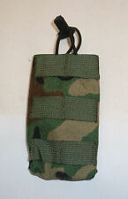 LBT-6146A Modular Single Mike-4 Speed Draw Pouch in Woodland Camo