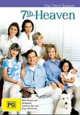 7TH HEAVEN  - THE THIRD SEASON - DVD - LIKE NEW