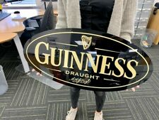 More details for guinness draught large mancave sign e18y