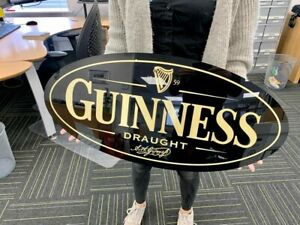 Guinness Draught Large mancave sign E18Y