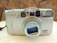 samsung fino 140SE zoom 38-140mm aspherical lens 35mm point & shoot film camera