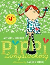 Pippi Longstocking Gift Edition by Lindgren, Astrid Paperback Book The Cheap