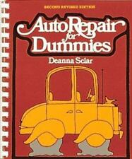 Auto Repair for Dummies by Deanna Sclar (1988, Book, Illustrated)