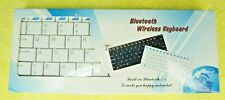 Wireless Bluetooth 3.0 Keyboard Mini 9 inch Pocket Size-PC Android TV XBox PS3