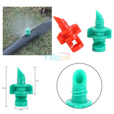 50x Micro Garten Rasen Wasser Spray Misting Düse Sprinkler Bewässerung 360°/180°