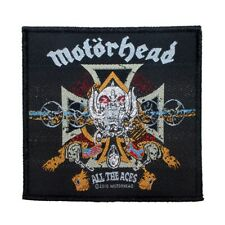 Motorhead All The Aces Patch Album Cover Art Heavy Metal Woven Sew On Applique