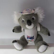 RUSS BERRIE KOALA AUSTRALIA OLYMPICS PLUSH JOINTED DOLL