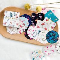 45Pcs/box Cartoon Flamingo Diy  Lable Stickers And Decorative Lifelog Sticker