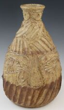 Vintage Mystery Artist Signed CB 78 MCM Studio Art Pottery Vase