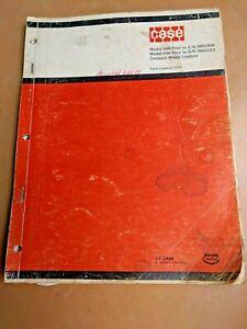 Case Model 644 compact wheel loaders parts catalog