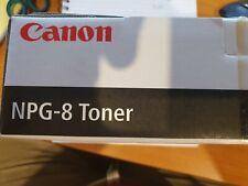 Genuine Canon NPG-8 Black Toner
