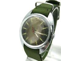 VOSTOK Antimagnetic 24 Hour Soviet Men's Casual Watch SERVICED Analog Rare USSR