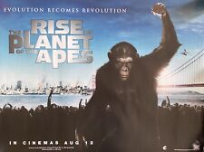 Rise of the Planet of the Apes (2011) Original Uk Theatrical Cinema Quad Poster