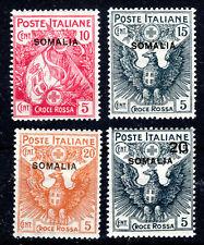 Somalia set of 4 scarce lmmint SG19-22 Cat £80++ 1916 [S905]