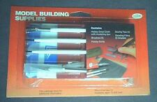 Model  Building  Supplies  Kit/Drop Cloth/Brushes/ >>We combine shipping<<  9111