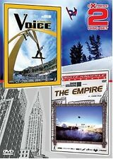 Voice and The Empire extreme snowboarding 2 dvd set NEW!
