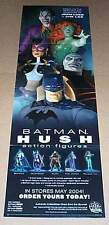 "34"" Jim Lee Batman DC Direct Hush action figure poster:Poison Ivy/Huntress/Joker"