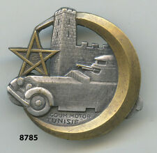 Insigne Sahara , GOUM   Motorisé de  TUNISIE  , ( croissant doré )