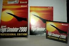 MICROSOFT FLIGHT SIMULATOR 2000 USATO OTTIMO PC CDROM VERSIONE ITA FB3 43411