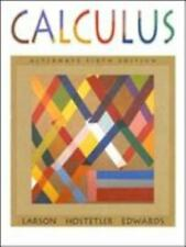 Calculus, Alternate by Ron Larson, Robert P. Hostetler and Bruce H. Edwards...