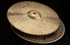 "Paiste Signature Dark Energy Hi Hat Cymbals 14"" Mk I"
