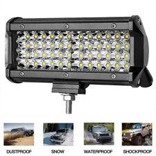 144W Spot LED Work Light Bar Driving Offroad For ATV SUV Truck Waterproof Lamp W