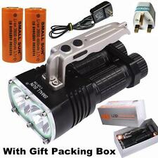 Small Sun 3000LM 2x XM-L T6 LED Tactical 26650 Rechargeable 2T6 LED Flashlight