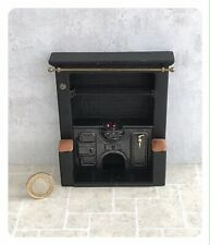 Dolls House Miniature - Small Cottage Fireplace -  B J Smetham Collectible