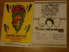 The Midnight Beast UK tour concert gig posters x 2