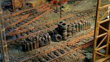 High detailed resin casting track side pileups By R&M suit OO gauge unpainted
