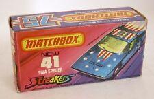 Repro Box Matchbox Superfast Nr.41 Siva Spyder Streaker