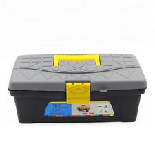"Plastic 2 Layers Multipurpose Hardware Tool Box 12.5"" Storage Organizer Case"